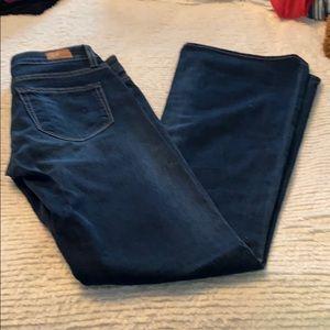 Paige dark wash jeans